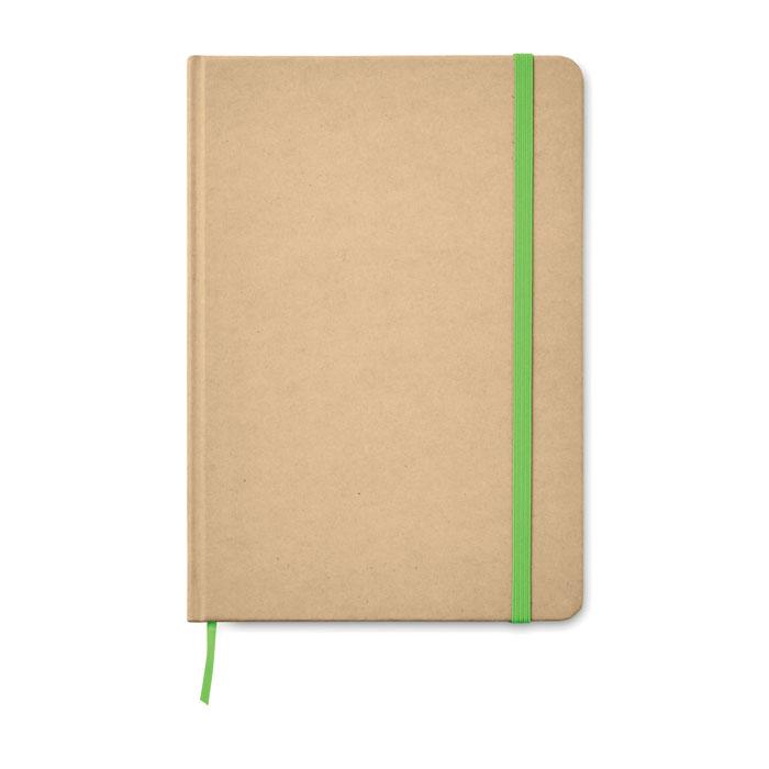 libreta A5 cartón reciclado