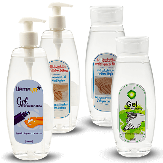 gel antibacterial 500ml