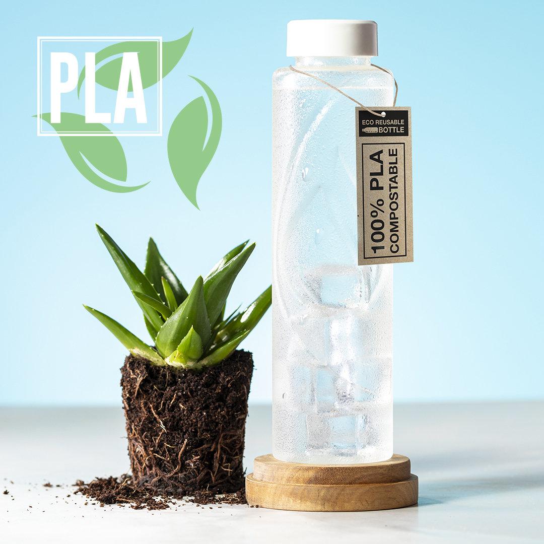 Bidón PLA 100% compostable 830ml
